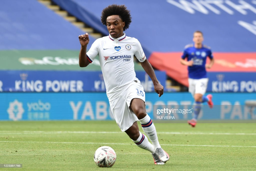 FBL-ENG-FA CUP-LEICESTER-CHELSEA : News Photo