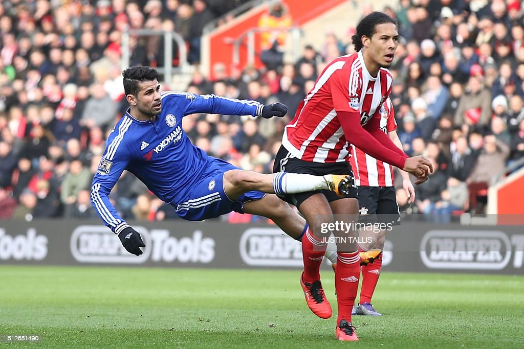 FBL-ENG-PR-SOUTHAMPTON-CHELSEA : News Photo