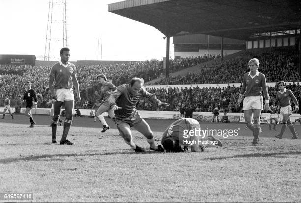 Chelsea's Bryan 'Pop' Robson in action during the Football League Division Two match between Chelsea and Charlton Athletic at Stamford Bridge on...