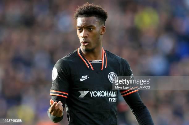 Chelsea's Callum HudsonOdoi Leicester City v Chelsea Premier League King Power Stadium