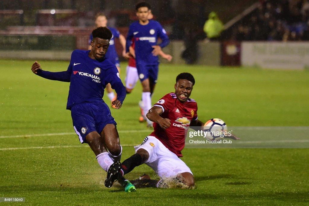 Chelsea v Manchester United: Premier League 2 : News Photo