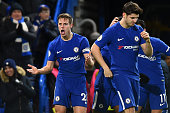 chelseas cesar azpilicueta encourages fans after