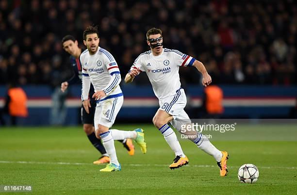 Chelsea's Cesar Azpilicueta in action