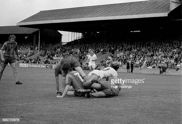 Chelsea's Clive Walker in action during the Football League Division Two match between Shrewsbury Town and Chelsea at Meadow Lane on August 23rd 1980...