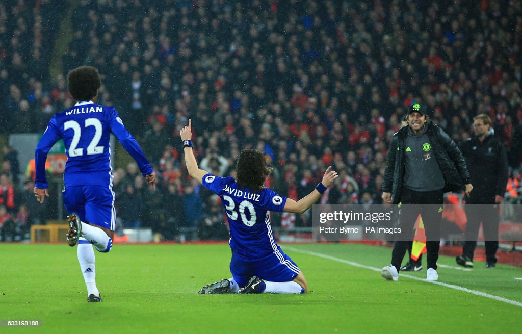 Liverpool v Chelsea - Premier League - Anfield : News Photo
