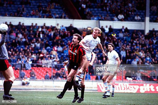 Chelsea's David Speedie scores his and Chelsea's first goal