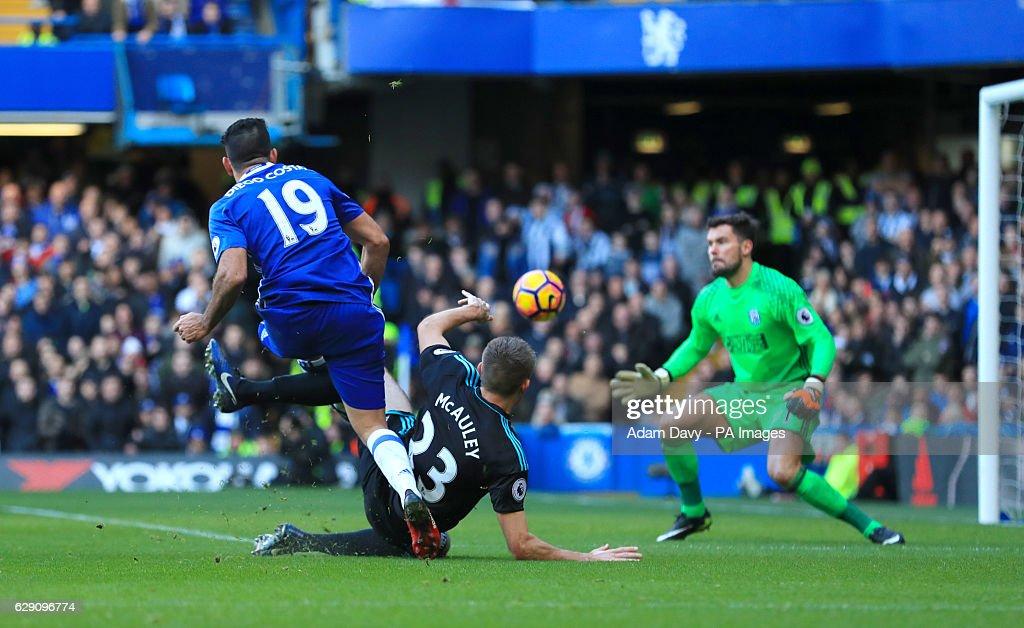 Chelsea v West Bromwich Albion - Premier League - Stamford Bridge : News Photo
