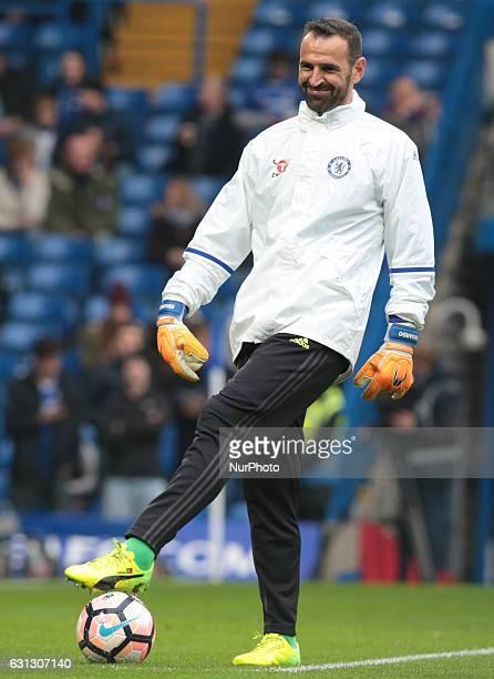 Chelsea's Eduardo during Emirates F A Cup Third Round match between Chelsea against Peterborough United at Stamford Bridge London Britain 08 Jan 2017