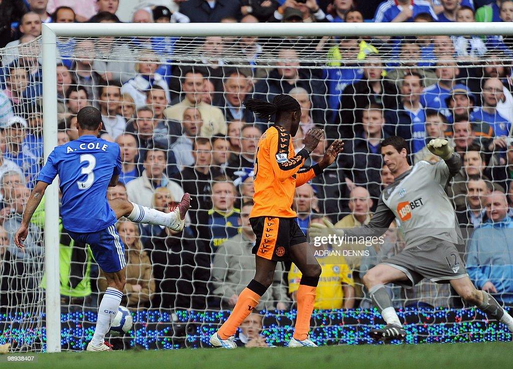 Chelsea's English defender Ashley Cole ( : News Photo