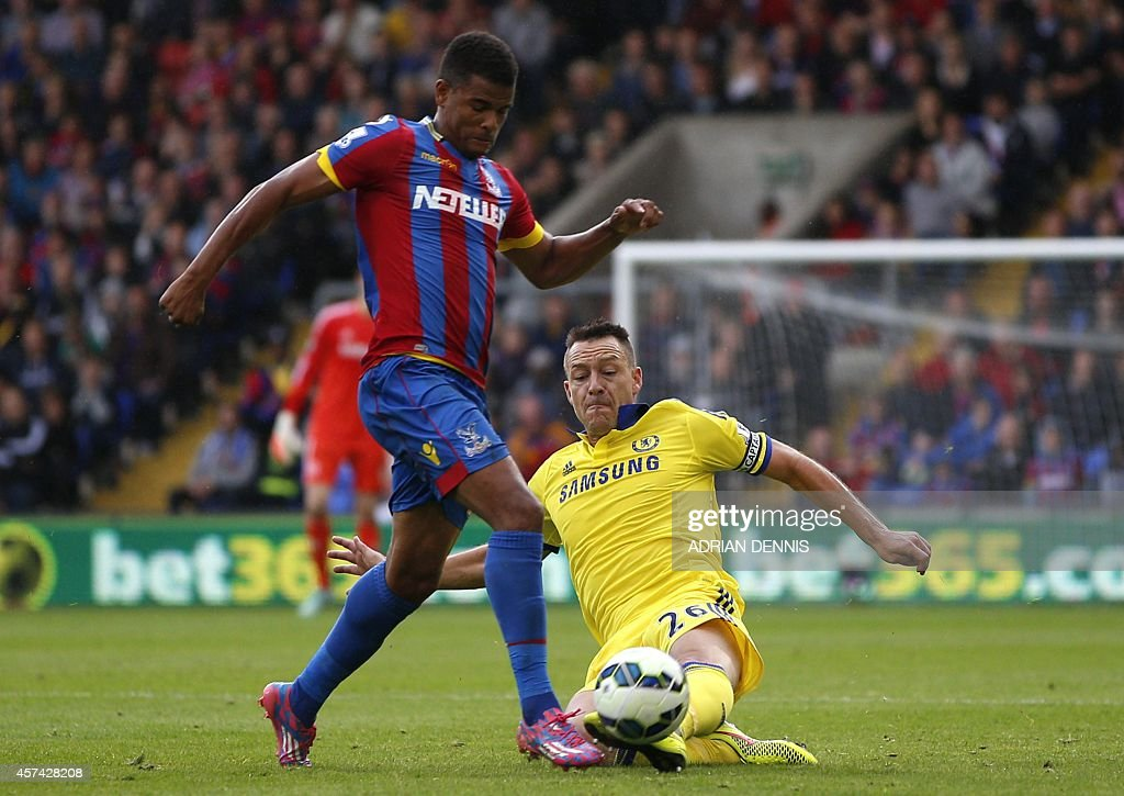 FBL-ENG-PR-CRYSTAL PALACE-CHELSEA : News Photo