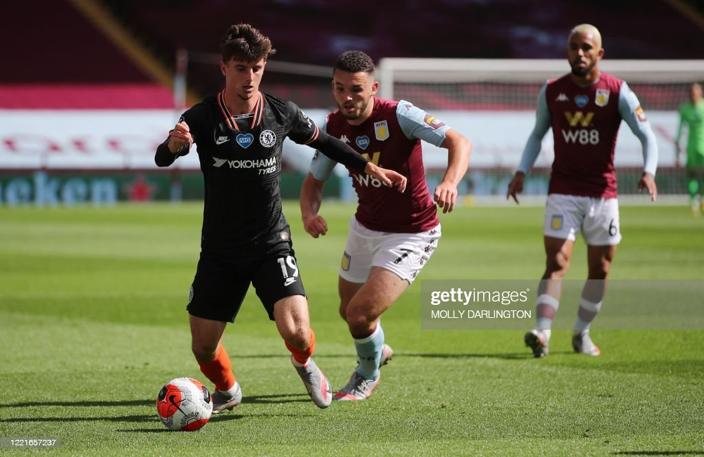 FBL-ENG-PR-ASTON VILLA-CHELSEA : News Photo