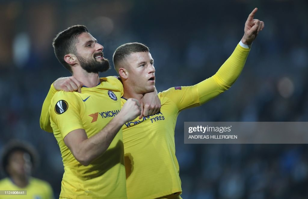 TOPSHOT-FBL-EUR-C3-MALMO-CHELSEA : News Photo