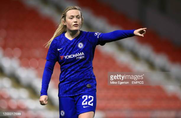 Chelsea's Erin Cuthbert Manchester United v Chelsea Continental Tyres League Cup Leigh Sports Village