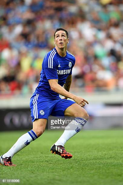 Chelsea's Fernando Torres during a pre season friendly match between NK Olimpija Ljubljana and Chelsea FC at the Stozice Stadium on the 27th July...