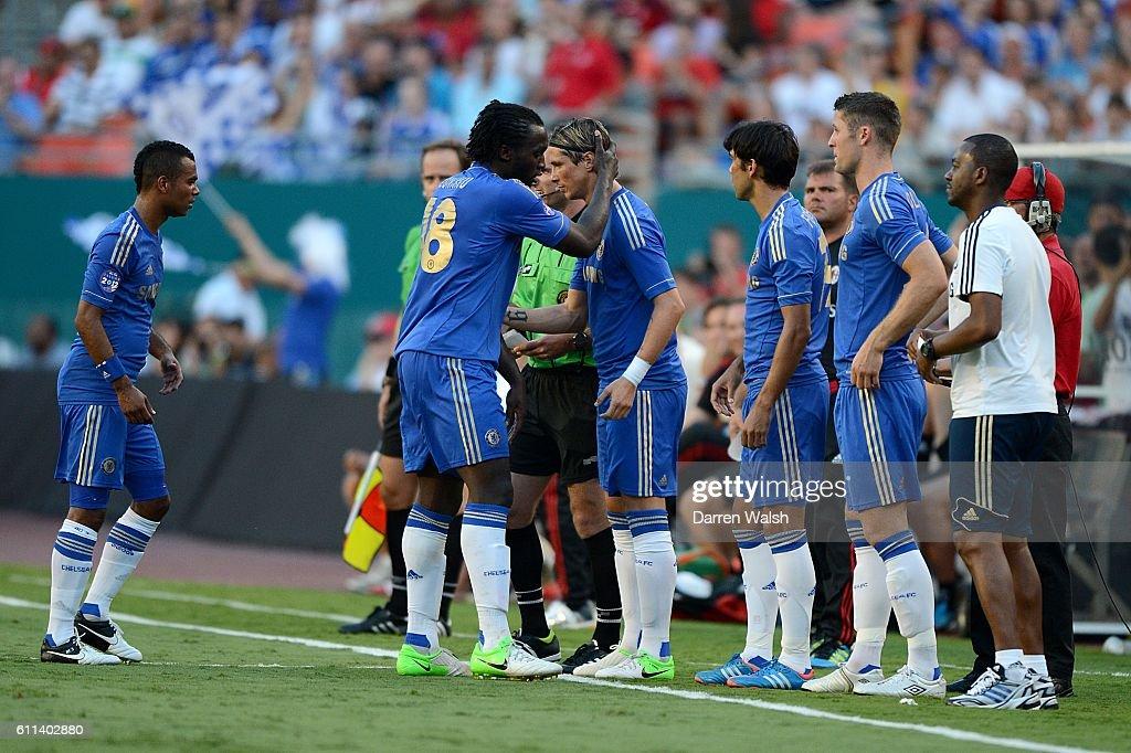 30b118040 Soccer - Pre Season Friendly - Chelsea v AC Milan - Sun Life Stadium : News