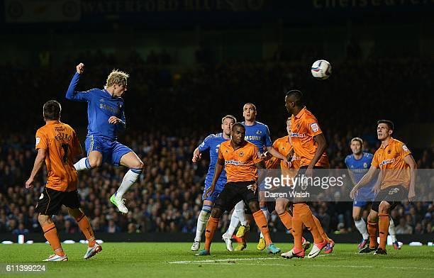 Chelsea's Fernando Torres scores his side's fifth goal