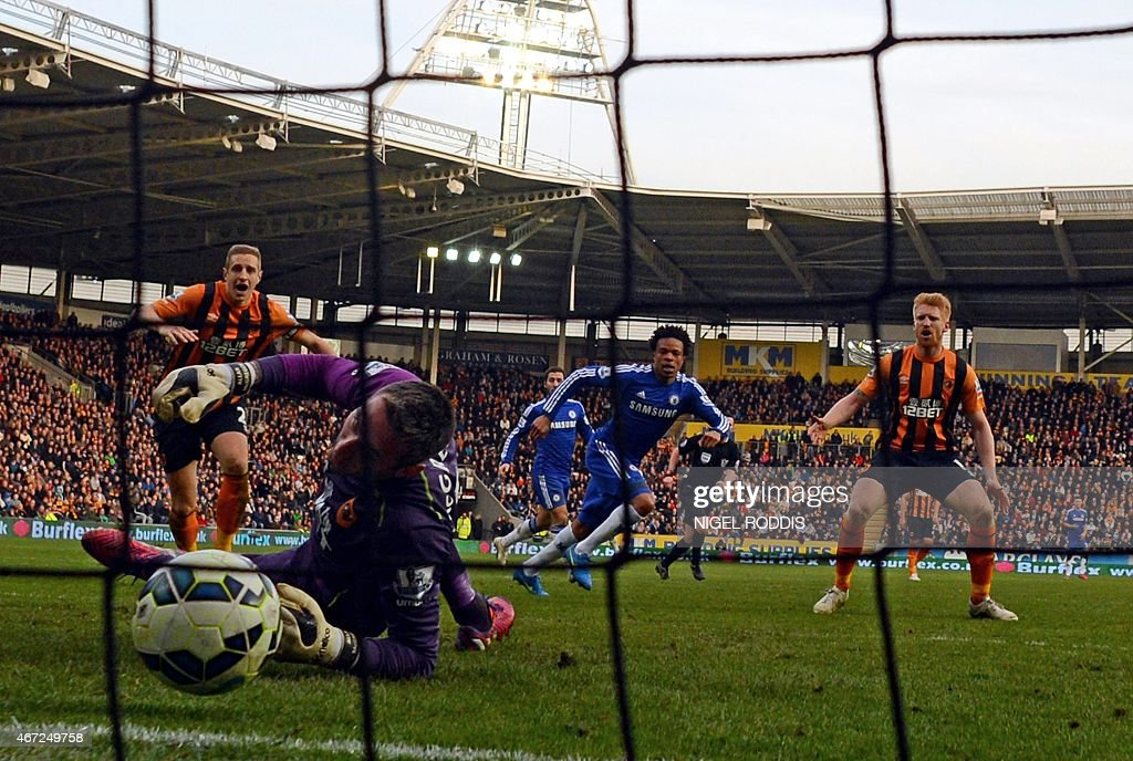 FBL-ENG-PR-HULL-CHELSEA : News Photo