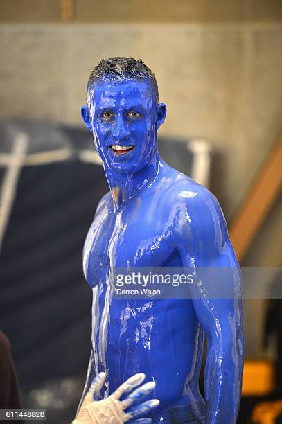 Chelsea's Gary Cahill during the making of the teaser campaign It's Blue What Else Matters shoot for the 2013/14 new Chelsea FC kit on 19th February...