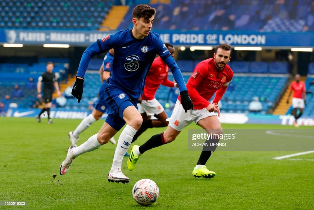 FBL-ENG-FA CUP-CHELSEA-MORECAMBE : News Photo