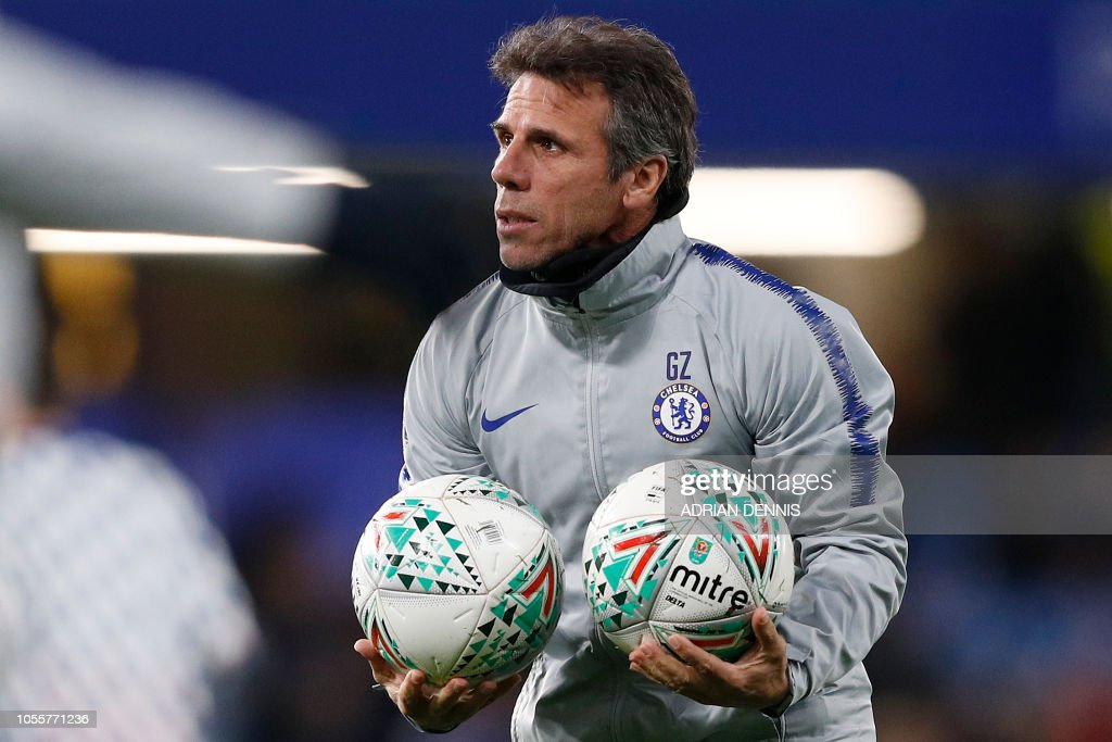 FBL-ENG-LCUP-CHELSEA-DERBY : News Photo