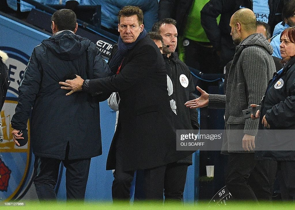 FBL-ENG-PR-MAN CITY-CHELSEA : News Photo