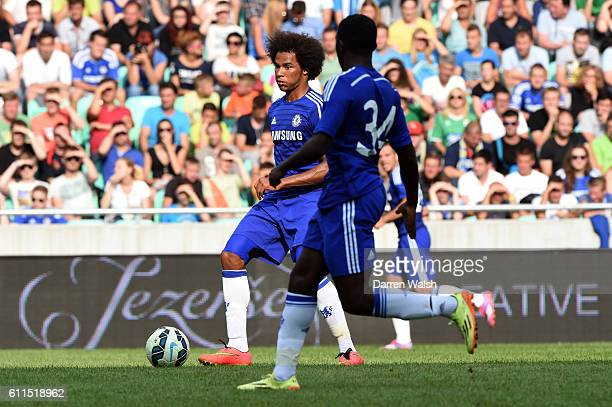 Chelsea's Izzy Brown during a pre season friendly match between NK Olimpija Ljubljana and Chelsea FC at the Stozice Stadium on the 27th July 2014 in...