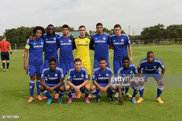 Chelsea's Izzy Brown Tammy Abrahan Dominic Solanke Jared Thompson Ruben LoftusCheek Andreas Christensen Ola Aina Charlie Colkett Jay Dasilva Fikayo...