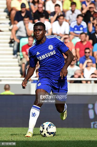 Chelsea's Jeremie Boga during a pre season friendly match between NK Olimpija Ljubljana and Chelsea FC at the Stozice Stadium on the 27th July 2014...