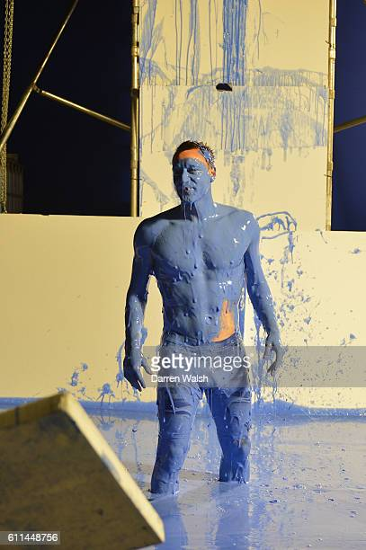 Chelsea's John Terry during the making of the teaser campaign It's Blue What Else Matters shoot for the 2013/14 new Chelsea FC kit on 19th February...