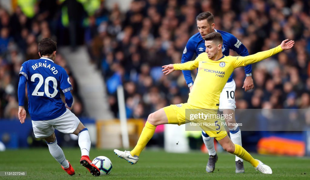 Everton v Chelsea - Premier League - Goodison Park : News Photo