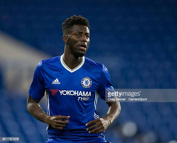 Chelseas Joseph Colley during the Checkatrade Trophy Southern Group C match between Chelsea U21 and Oxford United at Stamford Bridge on November 8...