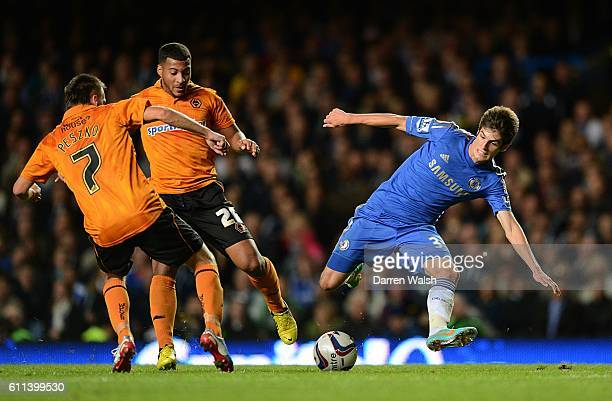 Chelsea's Lucas Piazon in action