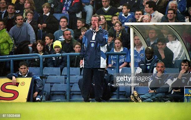Chelsea's management team of Graham Rix and Gianluca Vialli
