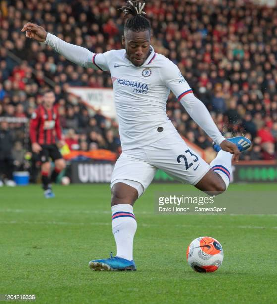 Chelsea's Michy Batshuayi during the Premier League match between AFC Bournemouth and Chelsea FC at Vitality Stadium on February 29 2020 in...