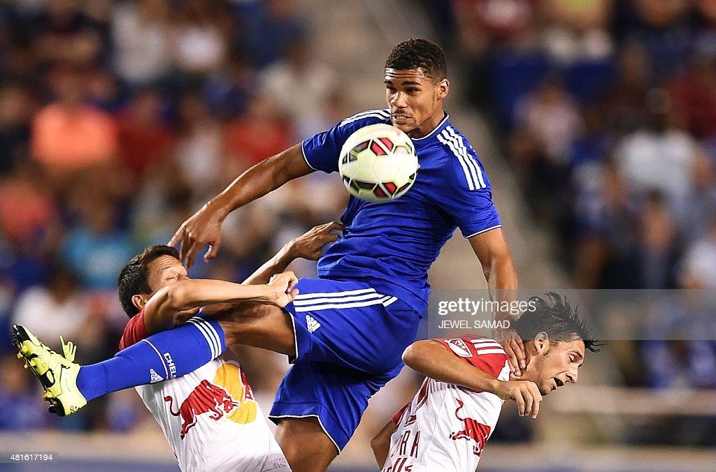 FBL-USA-ICCUP-NEWYORK-CHELSEA : News Photo