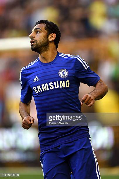 Chelsea's Mohamed Salah during a pre season friendly match between Vitesse Arnhem and Chelsea FC at Gelredome on the 30th July 2014 in Arnhem...