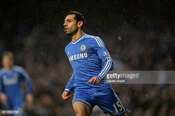 Chelsea's Mohamed Salah in action