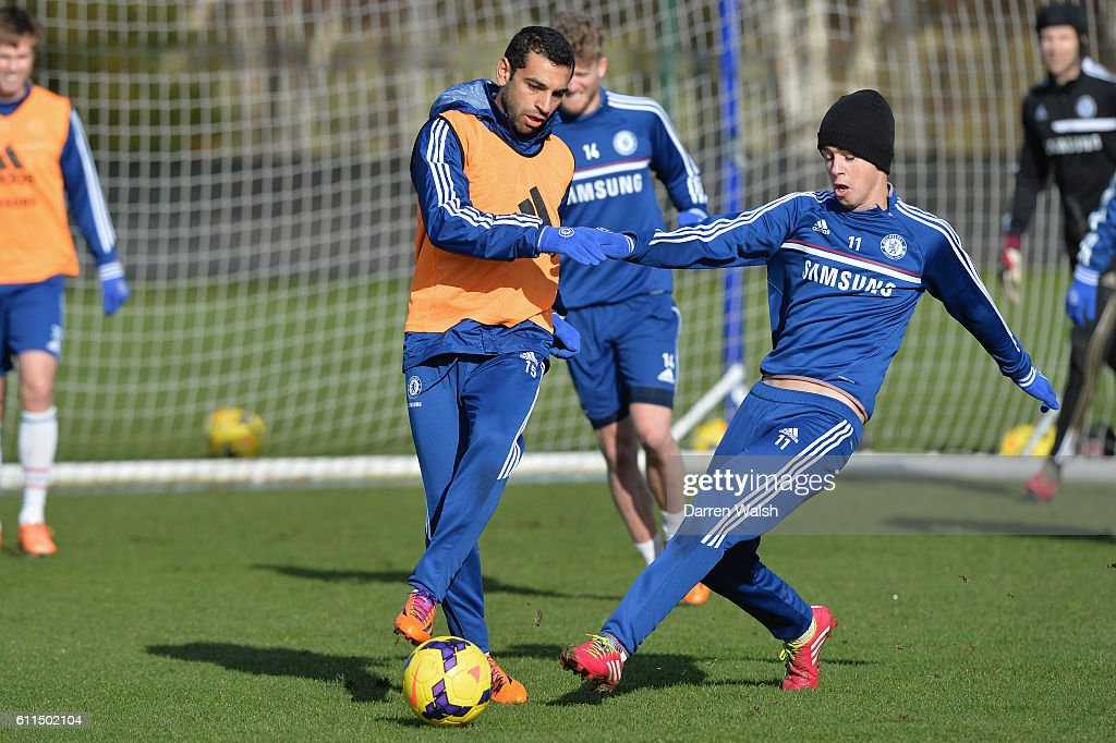 Image result for oscar and salah chelsea