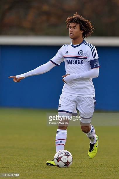 Chelsea's Nathan Ake during a U19 UEFA Youth League match between FC Basel U19 and Chelsea U19 on 26th November 2013 at the Campus in Basel...