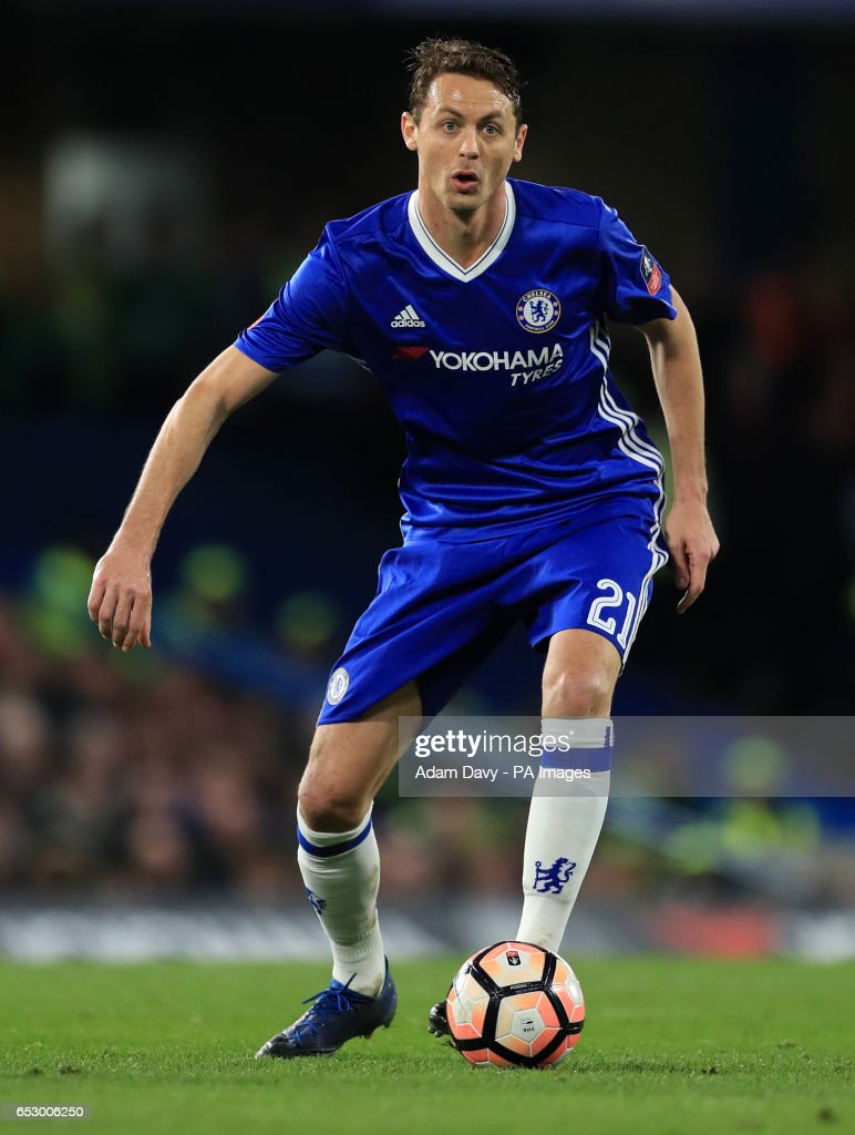 Chelsea's Nemanja Matic during the Emirates FA Cup, Quarter Final match at Stamford Bridge, London.