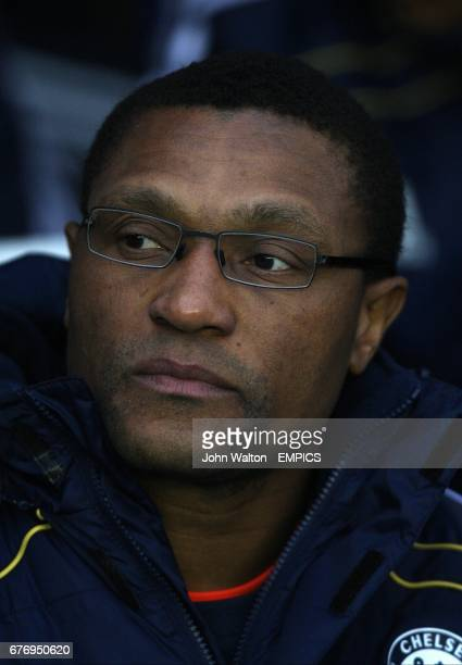 Chelsea's new assistant manager Michael Emenalo prior to kick off