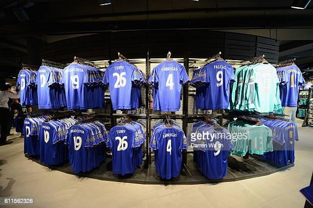 Chelsea's new designed Megastore at Stamford Bridge on 1st August 2015 in London England