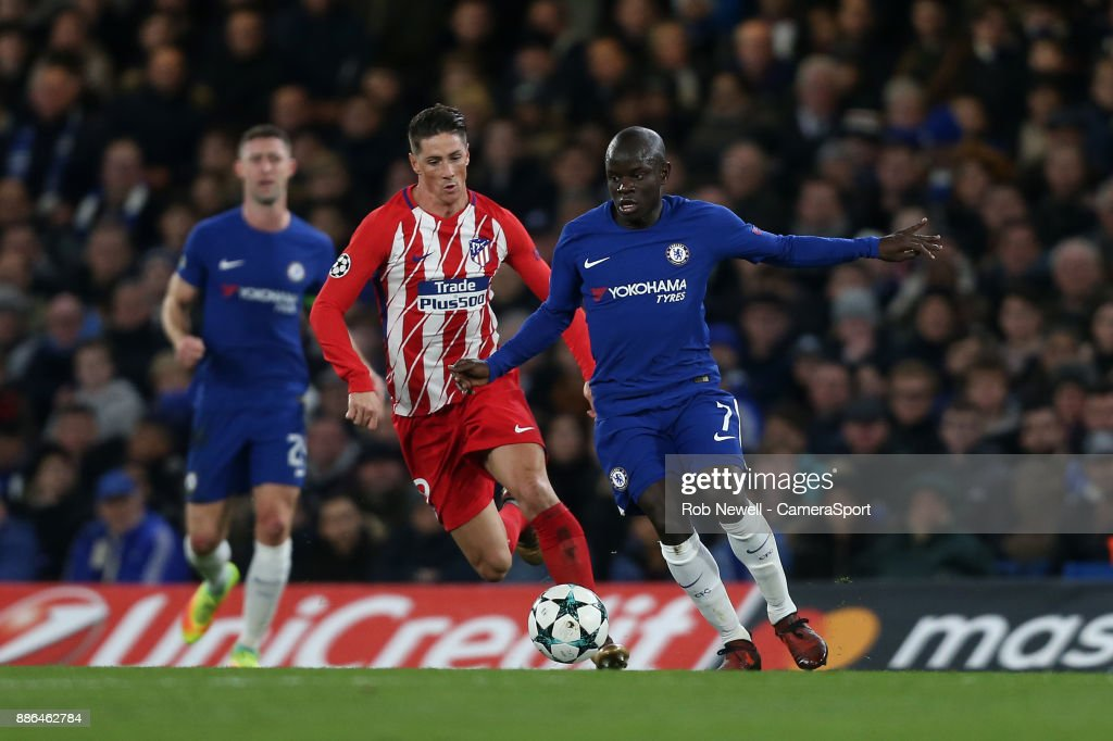 Chelsea FC v Atletico Madrid - UEFA Champions League : News Photo