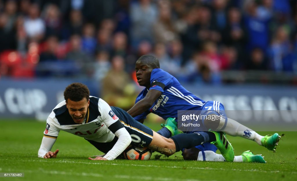 Chelsea v Tottenham Hotspur - The Emirates FA Cup - Semi-Final : News Photo