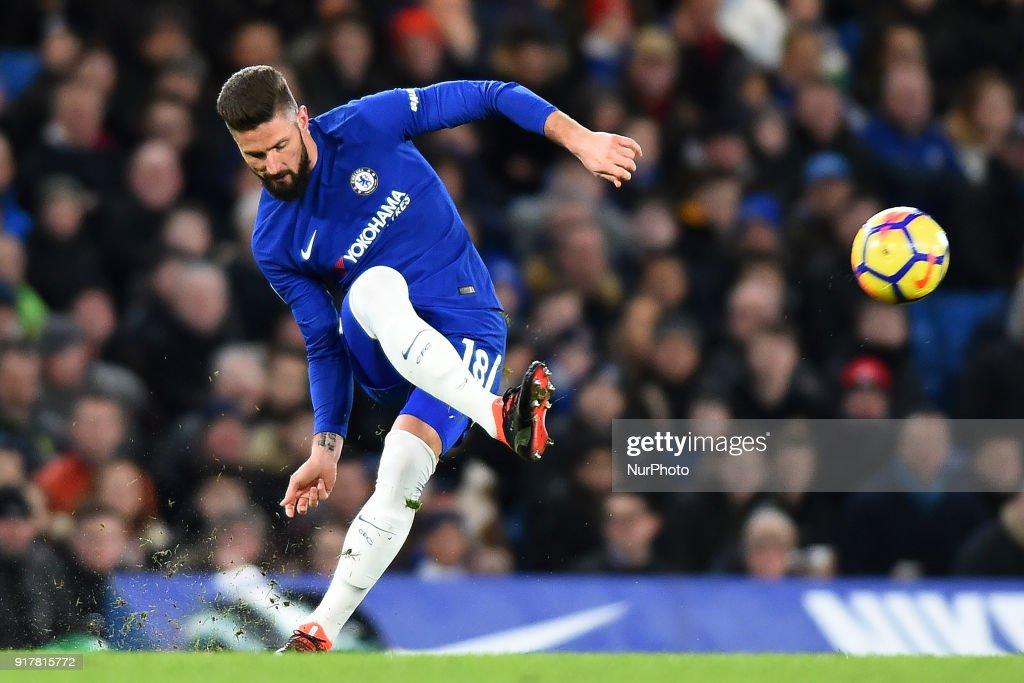 Chelsea v West Bromwich Albion - Premier League 2017/18 : ニュース写真
