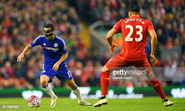 Chelsea's Pedro in action