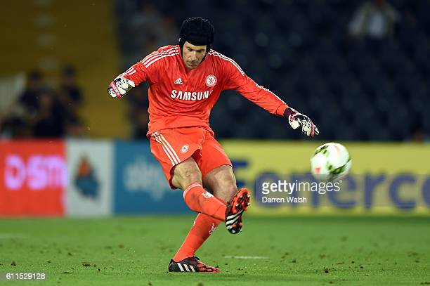 Chelsea's Petr Cech during a Soma Charity Tournament between Besiktas and Chelsea at the Sukru Saracoglu Stadium on 8th August 2014 in Istanbul,...