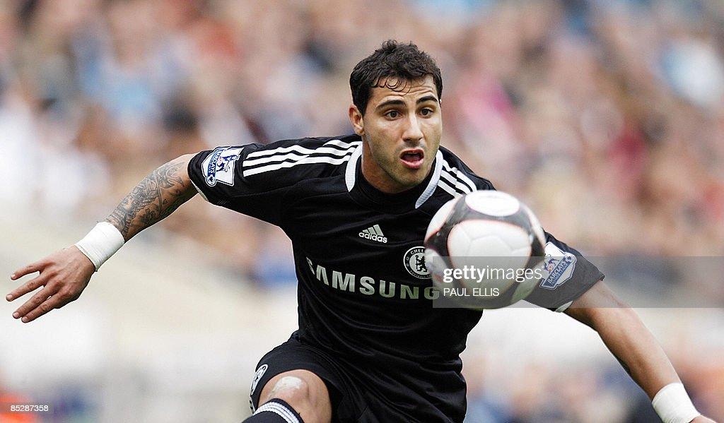 Chelsea's Portugese forward Ricardo Quar : News Photo