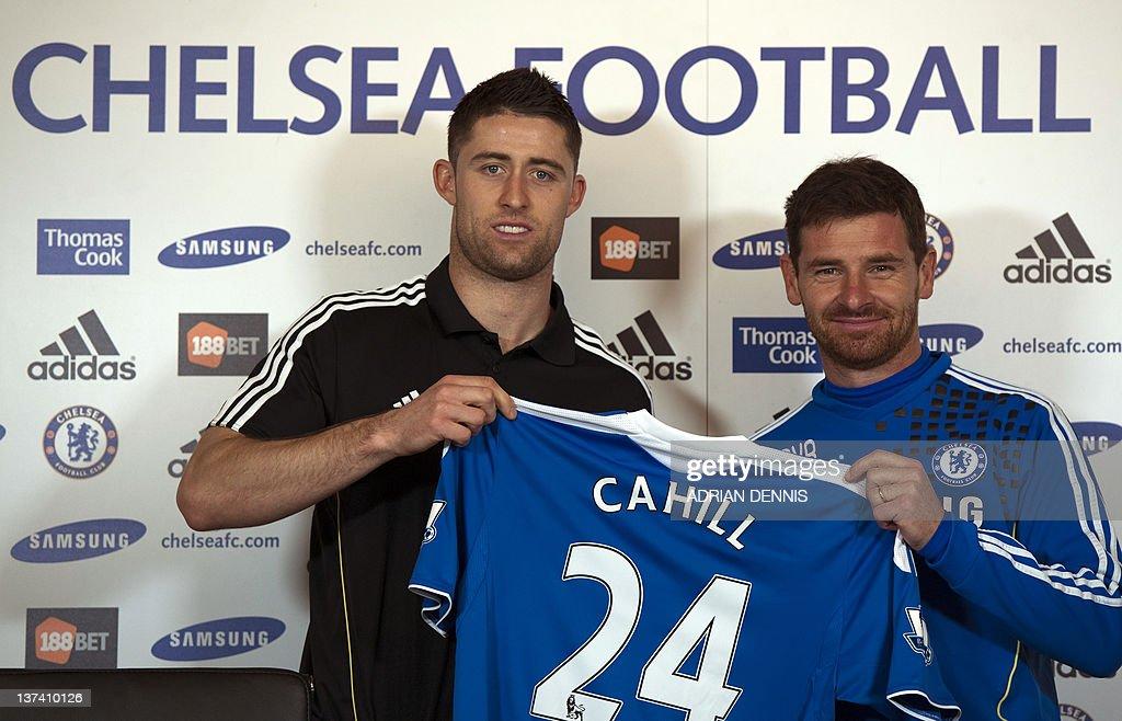 Chelsea's Portuguese Coach Andre Villas- : News Photo