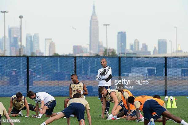 Chelsea's Roberto Di Matteo during a training session at the Timex Performance Center on 21th July 2012 in New York USA